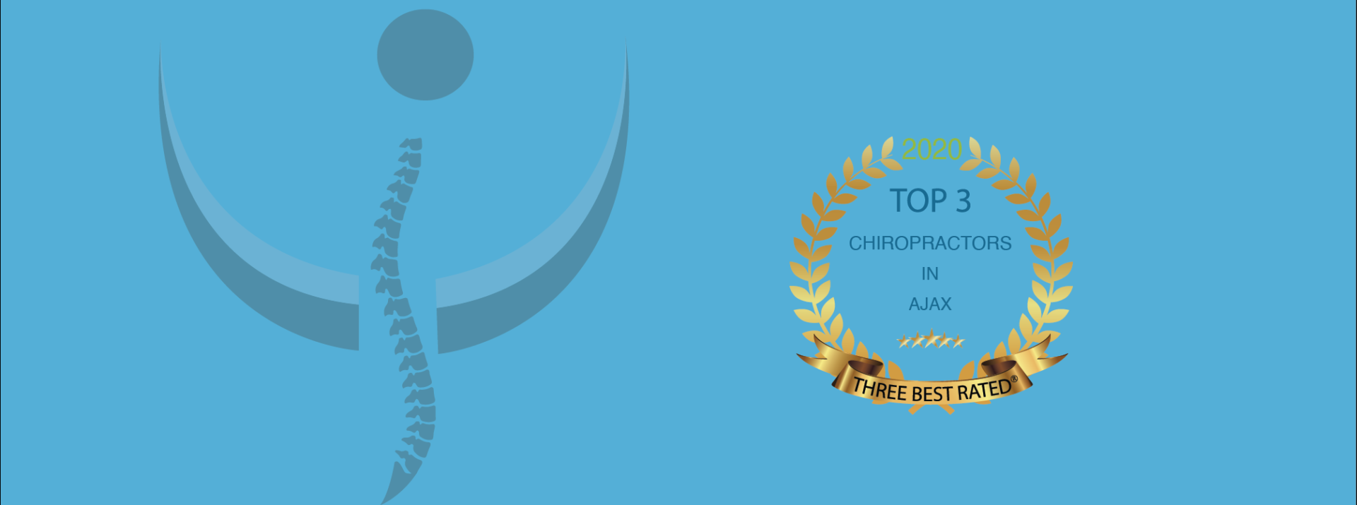 Awarded ThreeBest Rated® Chiropractors in Ajax
